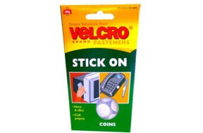 VELCRO STICK ON COINS